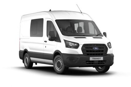 Ford Transit Crew Van 350 L2 2.0 EcoBlue FWD 130PS Trend Crew Van High Roof Manual [Start Stop] [DCiV]