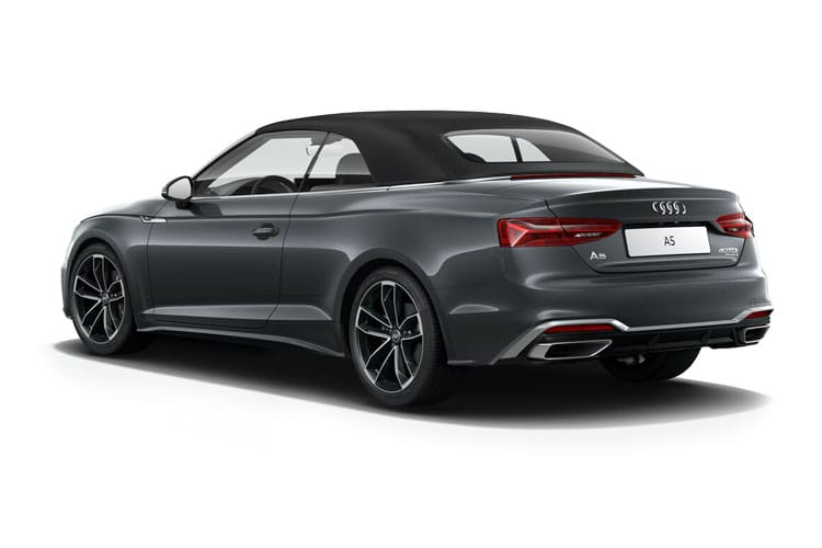 Audi A5 45 Cabriolet quattro 2Dr 2.0 TFSI 265PS Edition 1 2Dr S Tronic [Start Stop] back view
