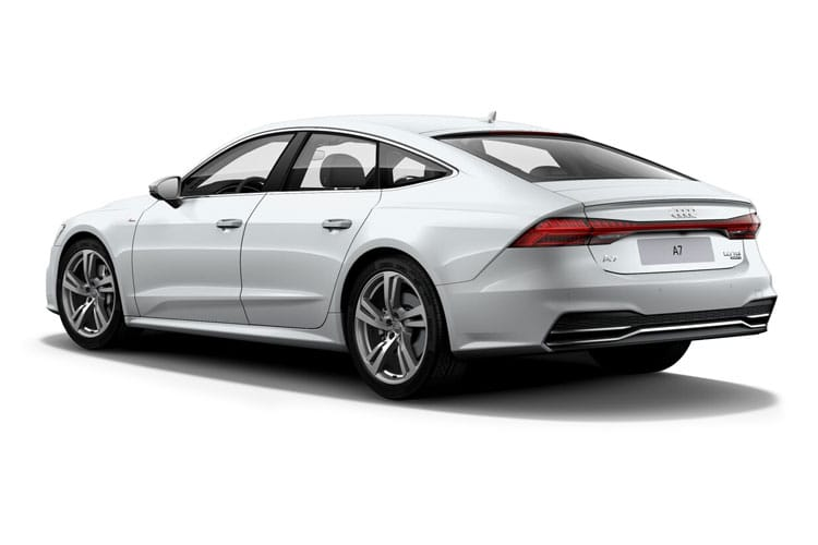 Audi A7 40 Sportback 5Dr 2.0 TDI 204PS Black Edition 5Dr S Tronic [Start Stop] back view