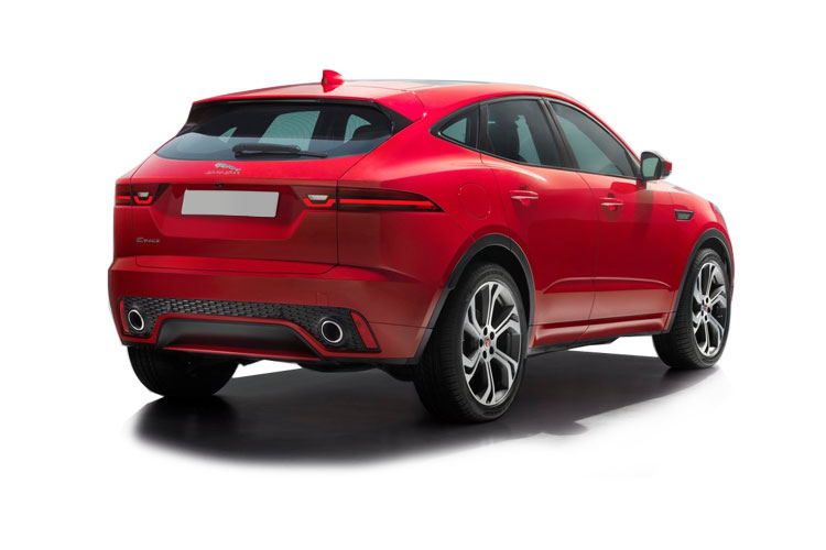 Jaguar E-PACE SUV AWD 2.0 i MHEV 249PS R-Dynamic S 5Dr Auto [Start Stop] back view