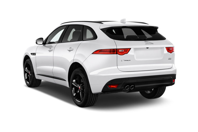 Jaguar F-PACE SUV AWD 3.0 d V6 MHEV 300PS SE 5Dr Auto [Start Stop] back view
