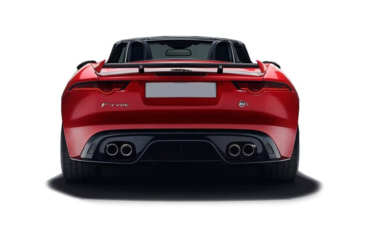 Jaguar F-TYPE Convertible AWD 5.0 V8 450PS First Edition 2Dr Auto [Start Stop] back view