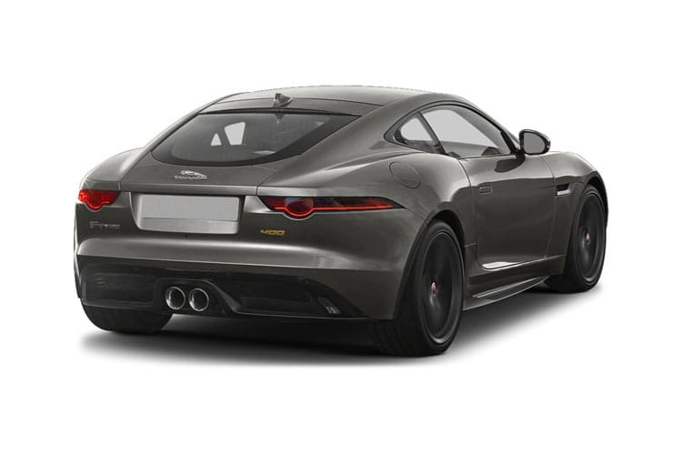 Jaguar F-TYPE Coupe 2.0 i 300PS  2Dr Auto [Start Stop] back view