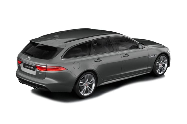 Jaguar XF Sportbrake AWD 2.0 d MHEV 204PS R-Dynamic S 5Dr Auto [Start Stop] back view