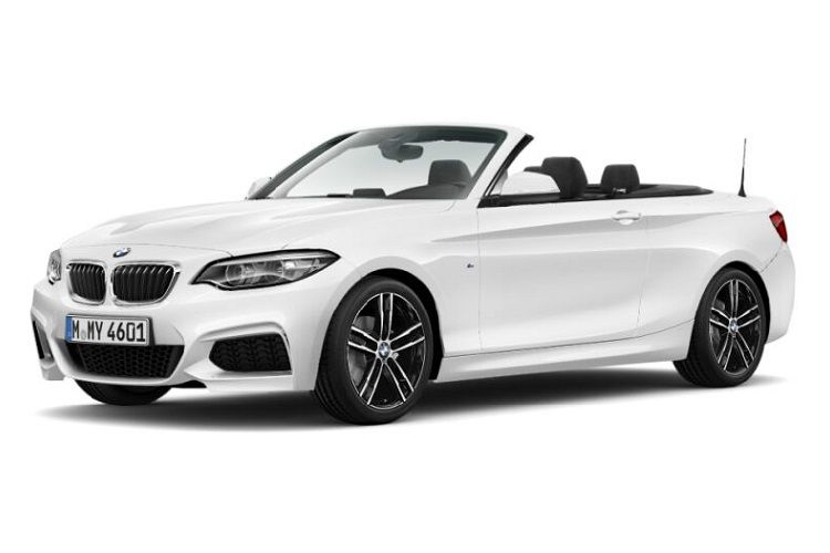 BMW 2 Series 220 Convertible 2.0 d 190PS Sport 2Dr Auto [Start Stop] front view