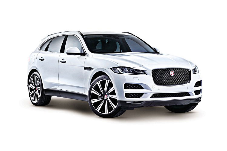 Jaguar F-PACE SUV AWD 2.0 d MHEV 204PS R-Dynamic SE 5Dr Auto [Start Stop] front view
