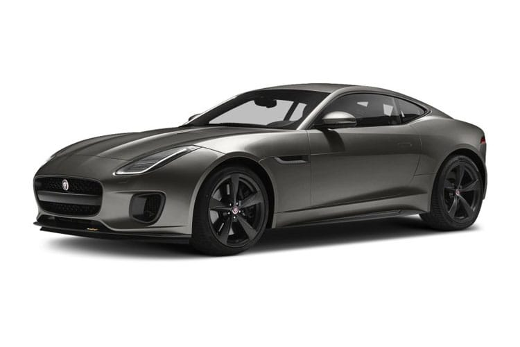 Jaguar F-TYPE Coupe 2.0 i 300PS  2Dr Auto [Start Stop] front view