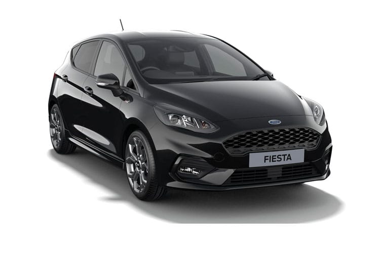 Ford Fiesta Hatch 5Dr 1.0 T EcoBoost MHEV 125PS ST-Line X Edition 5Dr Manual [Start Stop] front view