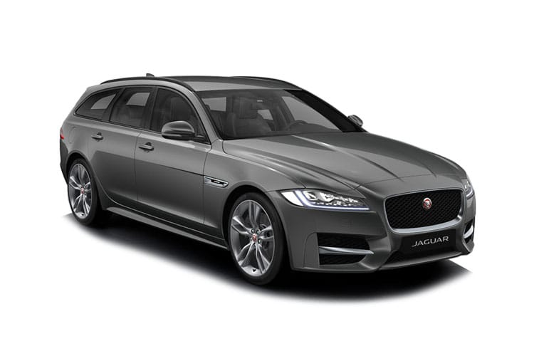 Jaguar XF Sportbrake AWD 2.0 d MHEV 204PS R-Dynamic S 5Dr Auto [Start Stop] front view