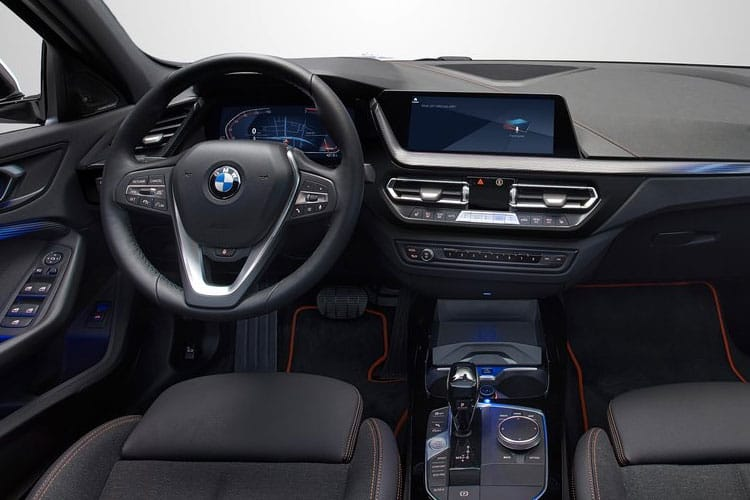 BMW 1 Series 118 Hatch 5Dr 1.5 i 140PS M Sport 5Dr DCT [Start Stop] inside view