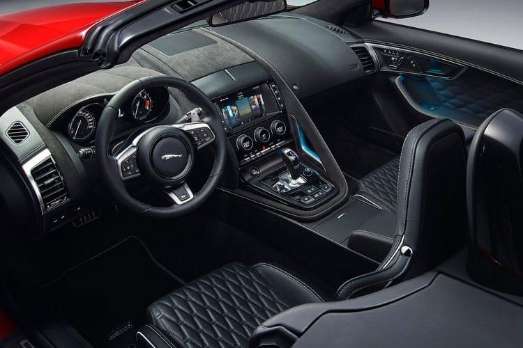 Jaguar F-TYPE Convertible AWD 5.0 V8 450PS First Edition 2Dr Auto [Start Stop] inside view