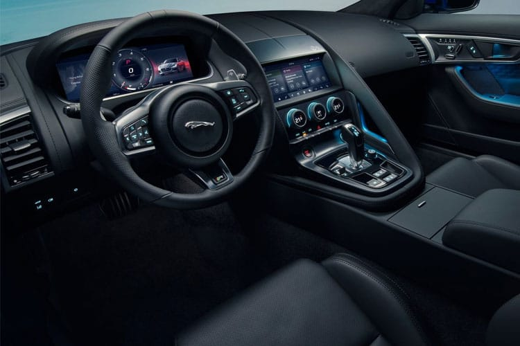 Jaguar F-TYPE Coupe 2.0 i 300PS  2Dr Auto [Start Stop] inside view