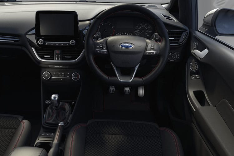 Ford Fiesta Hatch 5Dr 1.0 T EcoBoost MHEV 125PS ST-Line X Edition 5Dr Manual [Start Stop] inside view