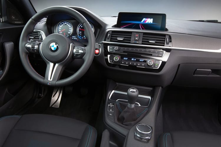 BMW 2 Series M2 Coupe 3.0 BiTurbo 410PS Competition 2Dr DCT [Start Stop] inside view