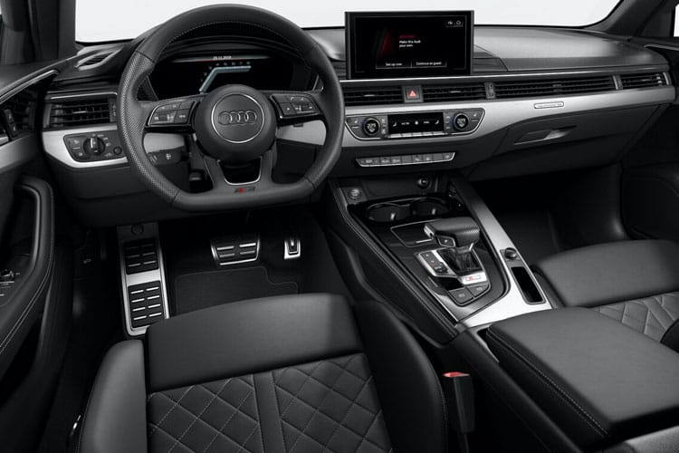 Audi A4 30 Saloon 4Dr 2.0 TDI 136PS S line 4Dr S Tronic [Start Stop] inside view