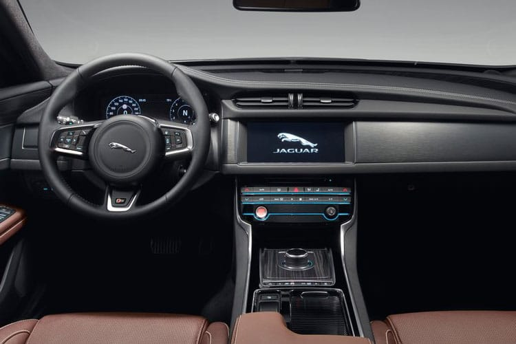 Jaguar XF Sportbrake AWD 2.0 d MHEV 204PS R-Dynamic S 5Dr Auto [Start Stop] inside view